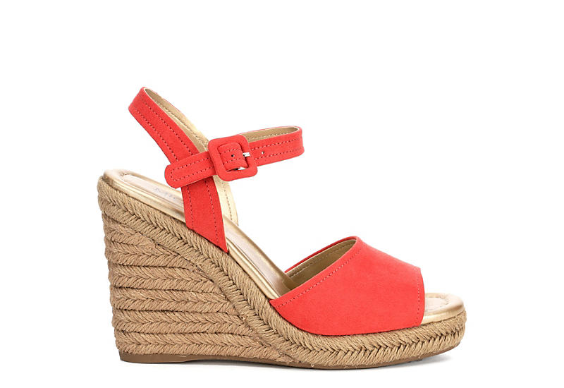 Michael By Shannon Womens Lainey Wedge Heel Sandals
