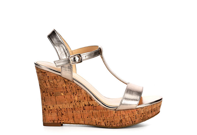 Michael By Shannon Womens Libby Wedge Sandal