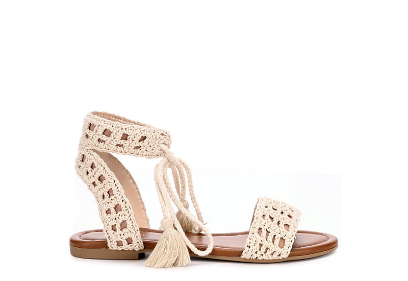 Michael By Shannon Womens Flats Sandals