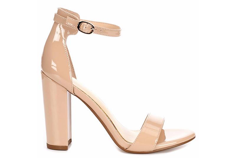 Michael By Shannon Womens Sammey Blockheel Sandals
