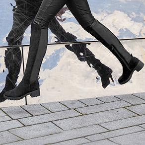 Čižmy nad kolená