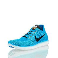 Nike Free Rn Flyknit Blau