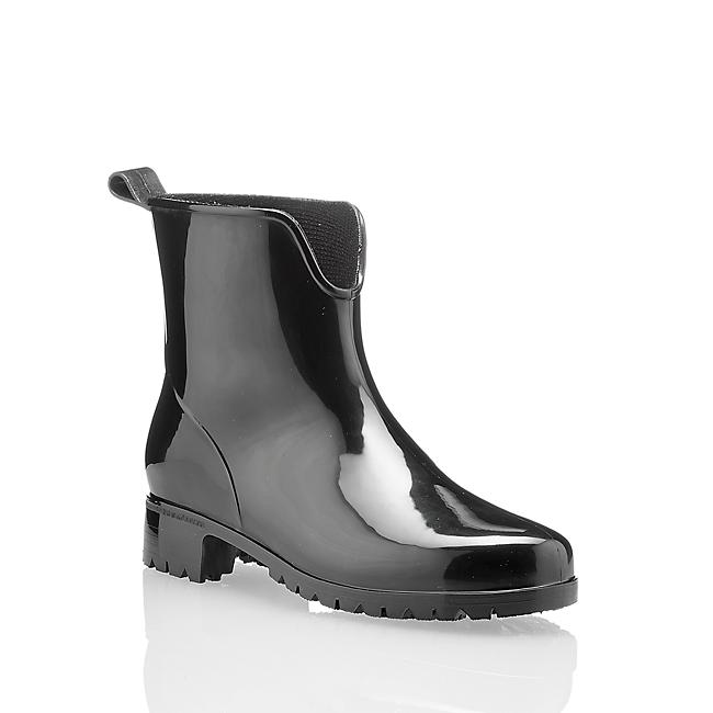 gummistiefel damen in schwarz von ochsner shoes im online. Black Bedroom Furniture Sets. Home Design Ideas
