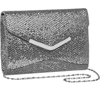 Graceland Ladies Glitter Clutch Bag