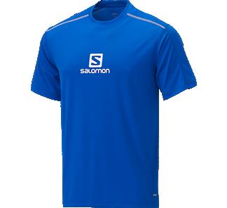 Salomon Stroll Logo SS Uomo Maglia Outdoor