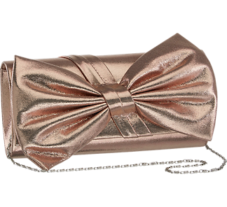 Graceland Ladies Bow Detail Clutch Bag