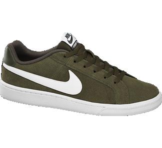 NIKE Keki színű COURT ROYALE SUEDE sneaker