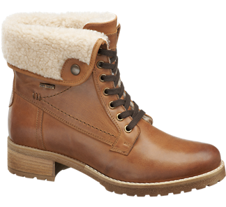 5th Avenue Leather Ankle Boots