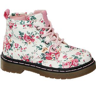Cupcake Couture Virágmintás bakancs