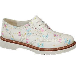 Graceland Virágmintás dandy cipő