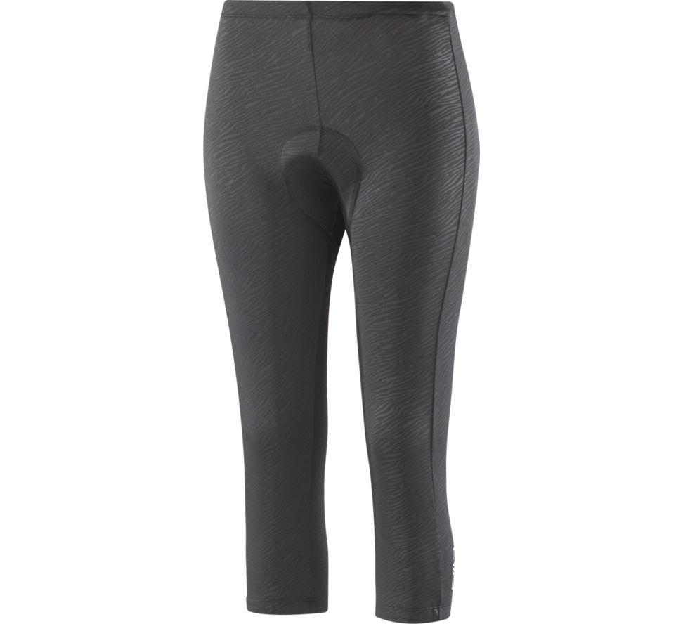 3/4 pantalon de vélo femmes noir 6713004