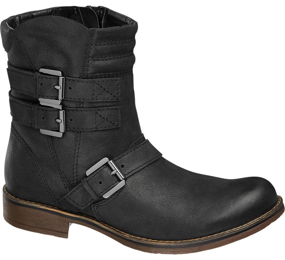 boots von 5th avenue in schwarz. Black Bedroom Furniture Sets. Home Design Ideas