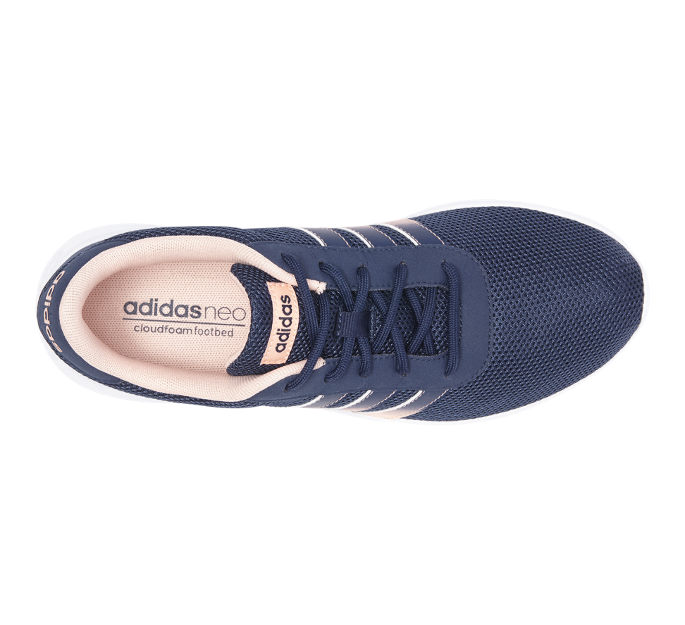 adidas neo label damen sneaker lite racer schwarz wei helvetiq. Black Bedroom Furniture Sets. Home Design Ideas