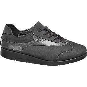Sapato conforto em pele