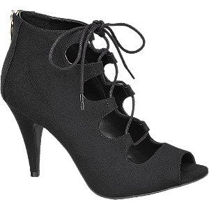 Sapato de salto lace up
