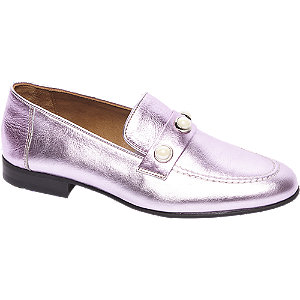 5th Avenue Roze leren loafer