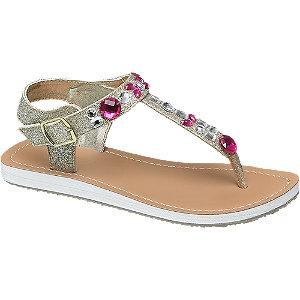 Graceland Gouden sandaal glitters