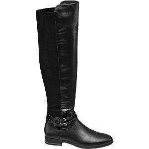 Zwarte Dames Overknee Laarzen van Graceland online kopen