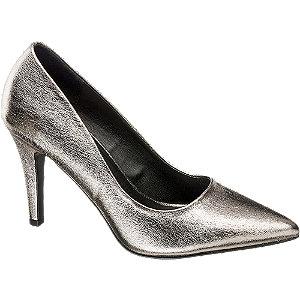 srebrne szpilki damskie Graceland