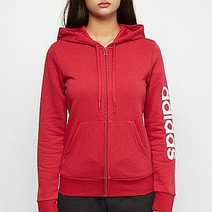 Piros női Adidas pulóver