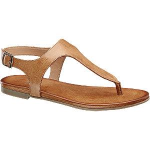 Barna lábujjközi szandál