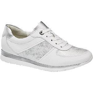 Biele kožené komfortné tenisky Medicus