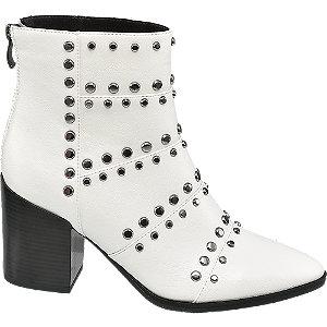 Biele členkové čižmy Rita Ora