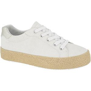 Biele plátenné tenisky Graceland