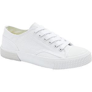 Biele plátenné tenisky Vty