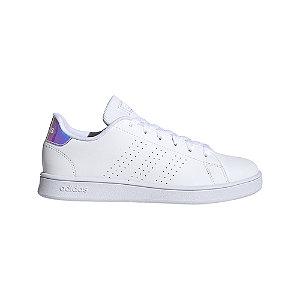 Biele tenisky Adidas Advantage K