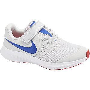 Biele tenisky na suchý zips Nike Star Runner 2