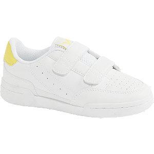 Biele tenisky na suchý zips Vty