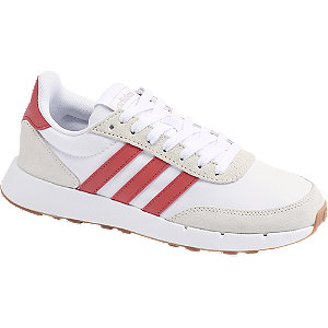 Bielo-sivé tenisky Adidas Run 60s 2.0.