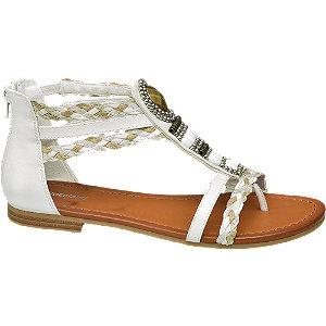 Bílé sandály Graceland