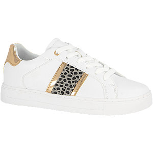 Bílé tenisky se zvířecím vzorem Graceland