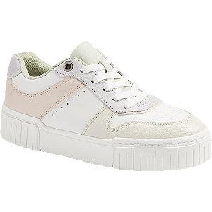 Bílo-růžové tenisky Graceland