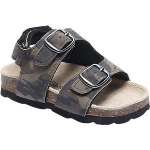 Bobbi-shoes Camo Sandaal Gesp