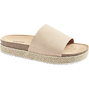 Béžové pantofle Graceland