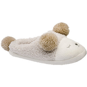 Béžové papuče Casa mia