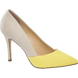 Béžovo-žlté lodičky Graceland