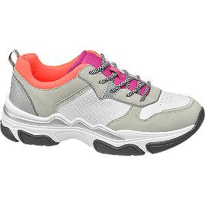Bézs színű chunky sneaker