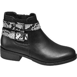 Chelsea boots kígyómintás csatokkal