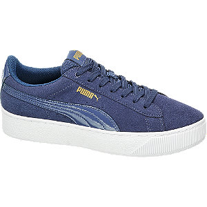 Leder Sneakers VIKKY PLATFORM