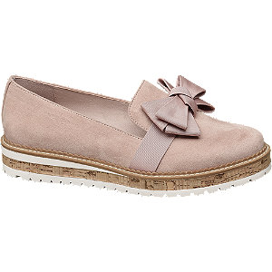 Loafer mit Plateau