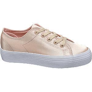 Plateau Leinen Sneakers