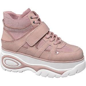 Plateau Mid Cut Sneakers
