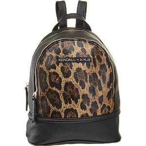 Rucksack in Animal-Print