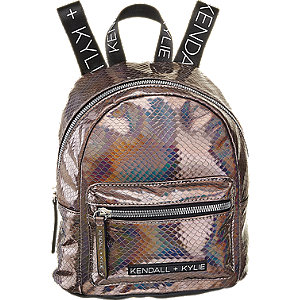 Rucksack in Metallic-Look