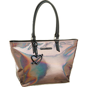 Shopper in Metallic-Look