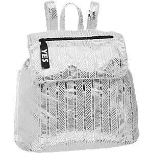 Ezüst női hátizsák